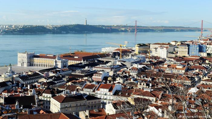 Stadtansicht Lissabon Portugal