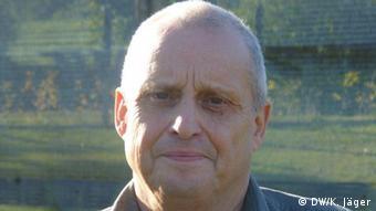 Lothar Bauer, früher DDR-Grenzsoldat, heute Unternehmer - Foto: Karin Jäger (DW)