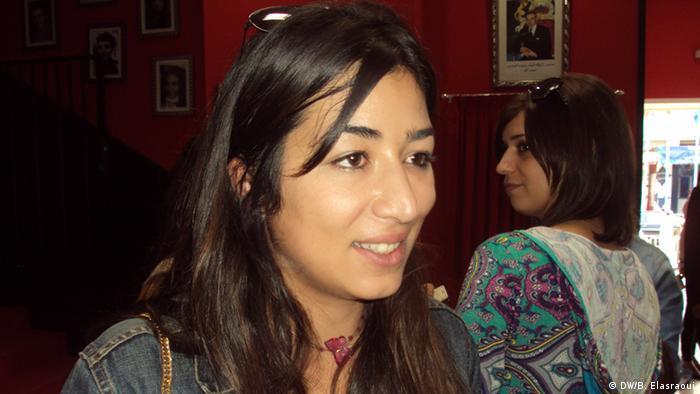 Thema: Frauenkino Marokko Bildtitel: Fatym Alayachi (Zeinab) im Film von Farida Bourkia Aufnahme-Datum: 28.9.2013 Copyright: DW/Bouameur Elasraoui