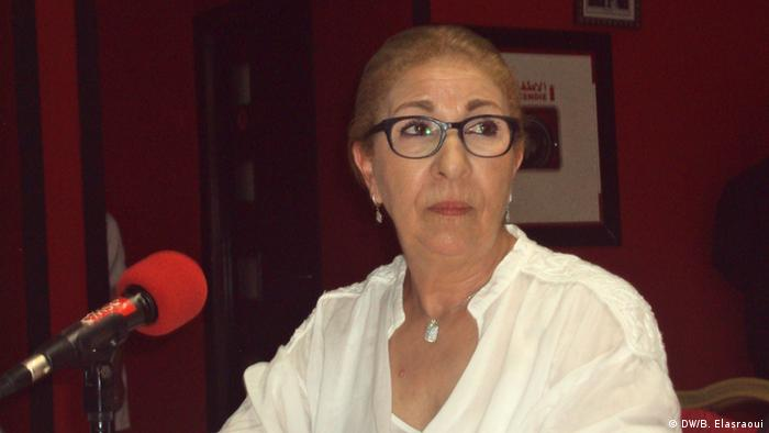 Thema: Frauenkino Marokko Bildtitel: Farida Bourkia, Regiesseurin von Zeinab/Marokko Aufnahme-Datum: 28.9.2013 Copyright: DW/Bouameur Elasraoui