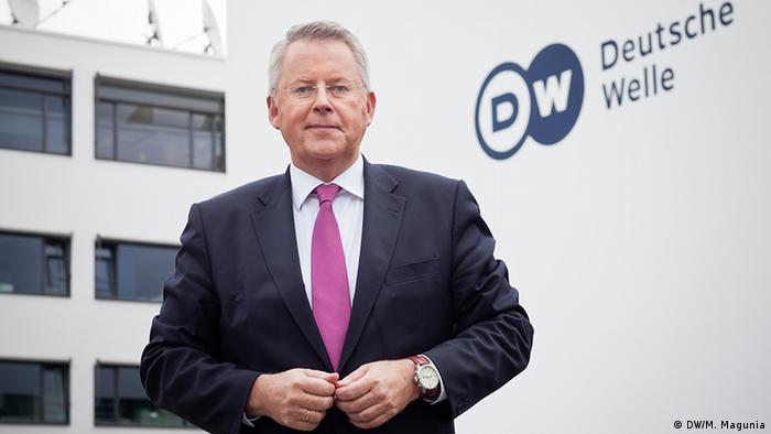 DW Director General Peter Limbourg
