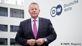 Петер Лімбурґ, генеральний директор Deutsche Welle