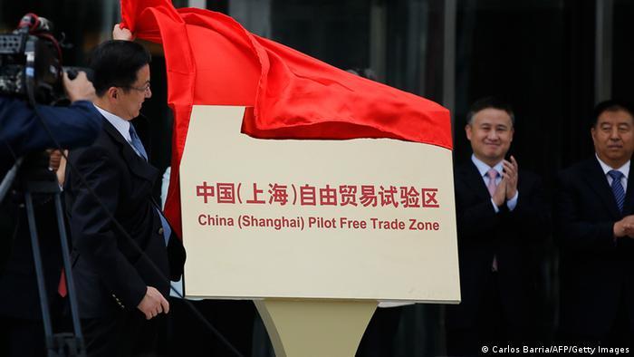 Shanghai Freihandelszone 29.09.2013