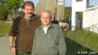 Klaus Staltmair et Lothar Bauer habitent Oberfranken, un village divisé il y a 23 ans