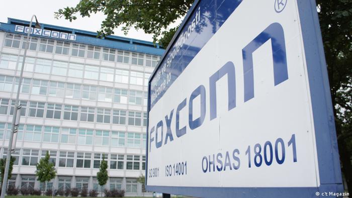Fábrica da Foxconn em Pardubice, República Tcheca