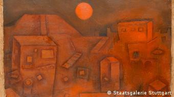 Paul Klee Häuser am Berg 1926 Staatsgalerie Stuttgart ***ACHTUNG: Bilder sind nur im Zusammenhang mit dem Projekt Alfred Flechtheim.com und der gleichnamigen Ausstellung zu verwenden***