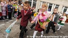 Schulkinder in der Ukraine