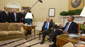 Barack Obama meets with Israeli Prime Minister Benjamin Netanyahu (photo: REUTERS/Jason Reed)