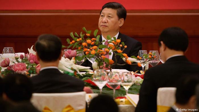 China Nationaltag Goldene Woche Xi Jinping