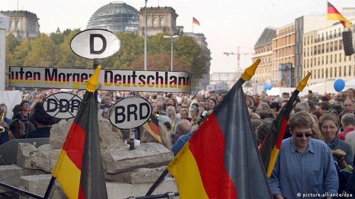 Deutsche Einheit in Fakten | Deutschland | DW | 02.10.2013