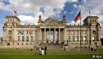 Deutscher Bundestag, Reichstagsgebäude