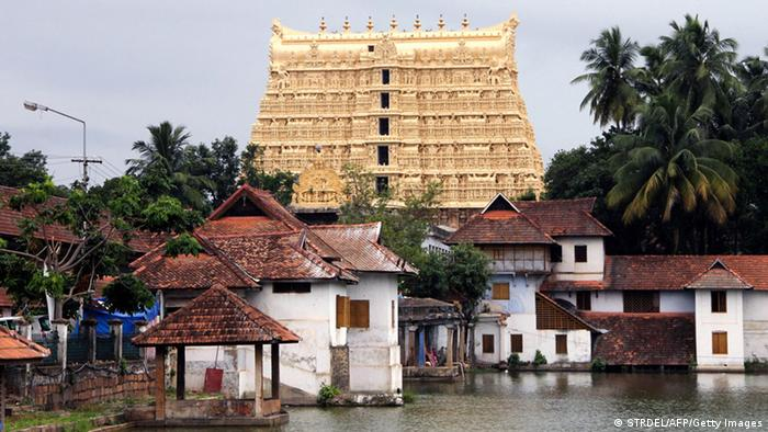 Bildergalerie Gold in Indien Padmanabhaswamy Tempel (STRDEL/AFP/Getty Images)