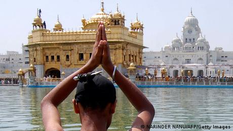 Bildergalerie Gold in Indien Amritsar (NARINDER NANU/AFP/Getty Images)