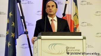 Weltwirtschaftsforum in Kiel eröffnet Dennis Snower