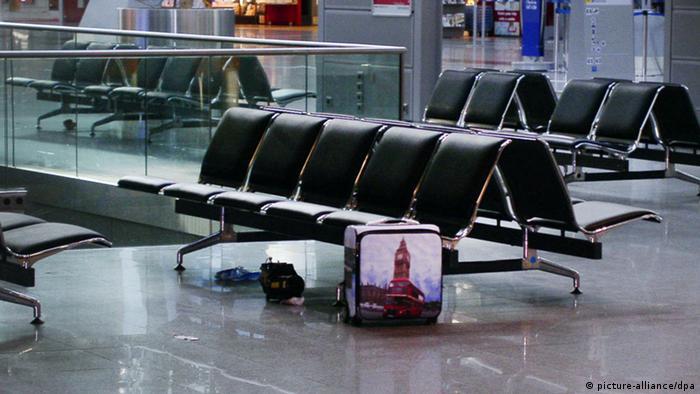 Verdächtiger Koffer am Düsseldorfer Flughafen