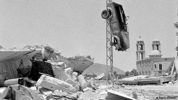 1974 Golanhöhen nach israelischem Rückzug