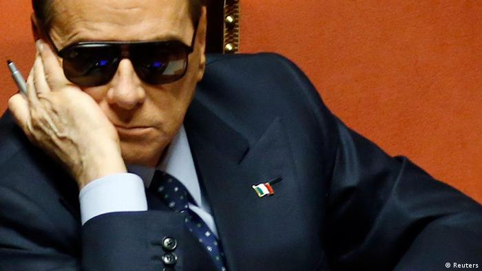 Italy's former Prime Minister Silvio Berlusconi attends a session at the Senate in Rome in this March 16, 2013 file photo (Photo: REUTERS/Remo Casilli/Files)