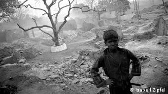 Kohleabbau in Jharia Indien