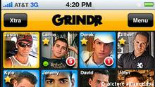 IPhone App Grindr