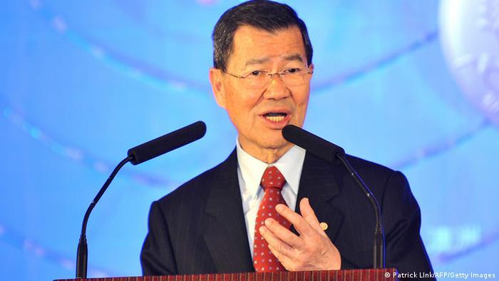 Porträt Taiwans ehemaliger Vizepräsident Vincent Siew (Patrick LInk/AFP/Getty Images)