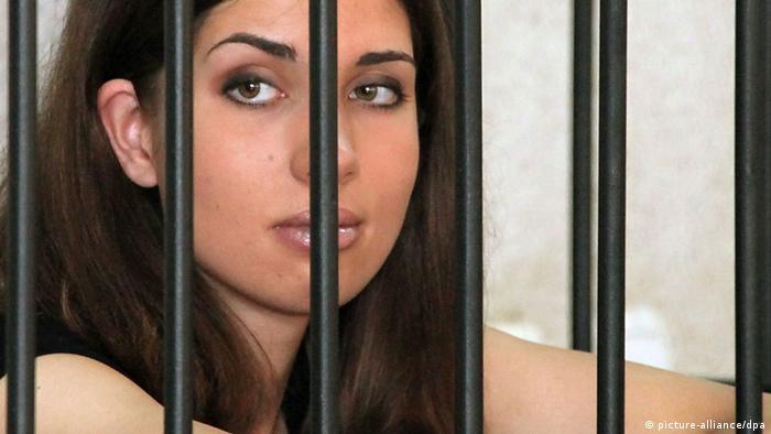 Russische Feministin Nadeschda Tolokonnikova