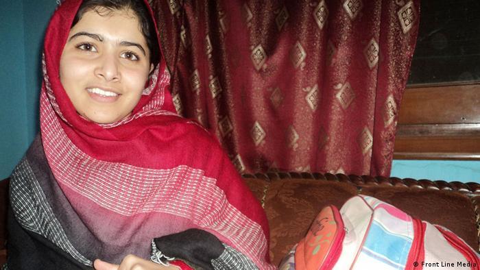 Die pakistanische Kinderrechtsaktivistin Malala Yousafzai (Foto: Front Line Media)