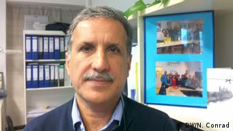 Hamid Nowzari, Geschäftsführer des Vereins iranischer Flüchtlinge in Berlin