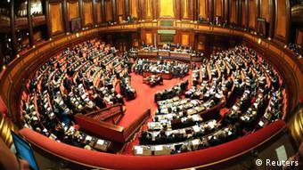 Το ιταλικό κοινοβούλιο στη Ρώμη
