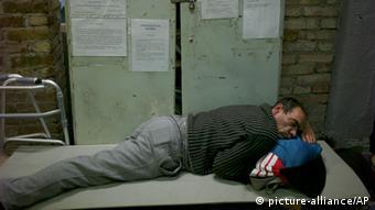 Beskućnik u Budimpešti