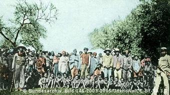 Namibia deutsche Kolonialgeschichte Kriegsgefangene Herero