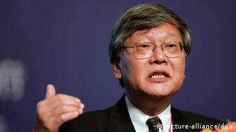 China Hongkong Wirtschaft Andrew Sheng