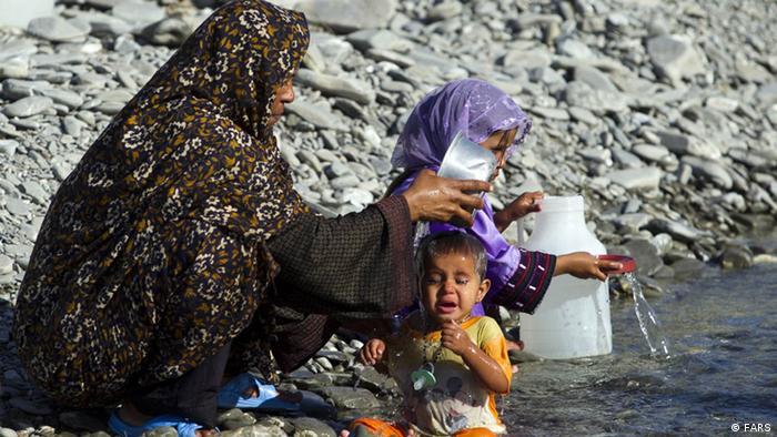 200 Familien in einem südiranischen Dorf ohne Trinkwasser. (FARS)