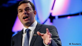 U.S. Rep. Justin Amash (R-MI) speaks at the Liberty Political Action Conference (LPAC) in Chantilly, Virginia September 19, 2013. REUTERS/Kevin Lamarque (UNITED STATES - Tags: POLITICS)