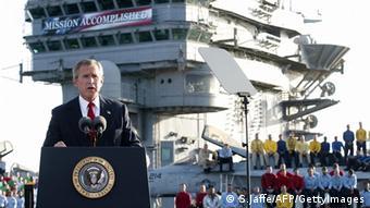 George W. Bush erklärt Irakkrieg für beendet