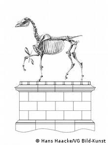 Gift horse von Hans Haacke