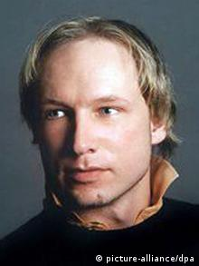 Profile picture of Anders Behring Breivik with long hair before he became an extreme-right terrorist KEINE SOCIAL MEDIA RECHTE!
