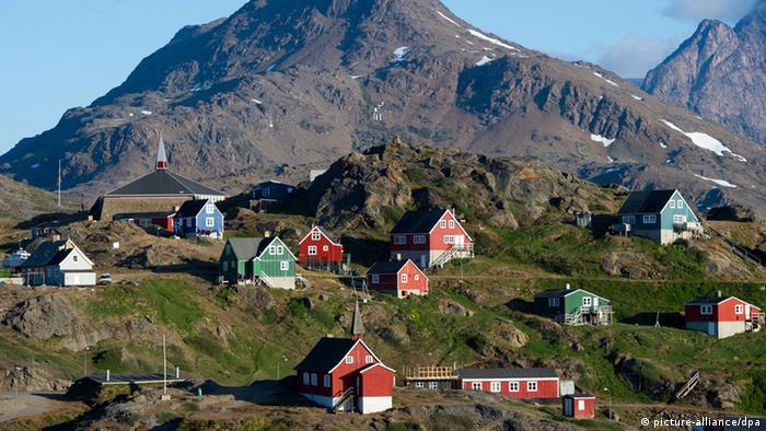 Деревня инуитов Гренландии