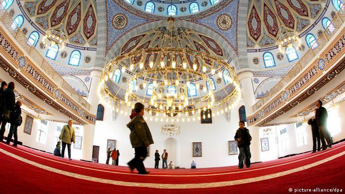 �Esp�as en la mezquita?