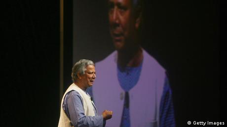 Muhammad Yunus beim Microsoft Government Leaders Forum in Peking