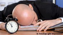 Mann Müde Überfordert