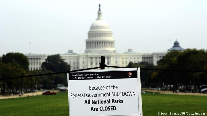 USA Symbolbild Haushaltskrise (Jewel Samad/AFP/Getty Images)