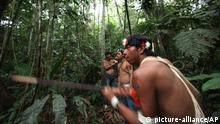 Bildergalerie Yasuni Nationalpark Waorani Indigene First Nation