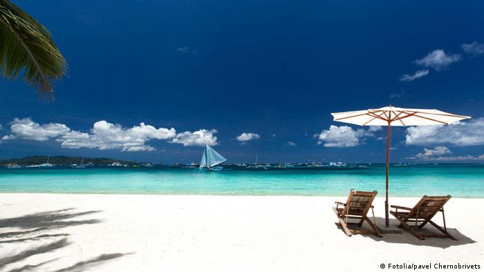 Philippinen Boracay Strand