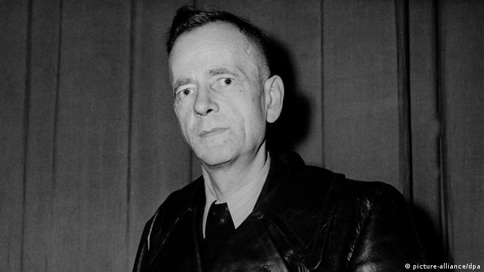 Porträt des ehemaligen SPD-Vorsitzenden Kurt Schumacher