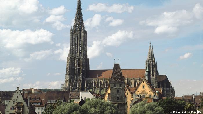 Ulm Party Für Den Höchsten Kirchturm Der Welt Dw Reise Dw