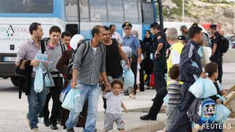 Italien Flüchtlingsdrama Lampedusa