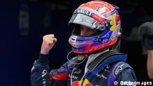Formel 1 Südkorea Qualifying 2013 Sebastian Vettel jubelt