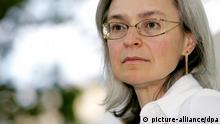 Porträt Anna Politkowskaja 2005