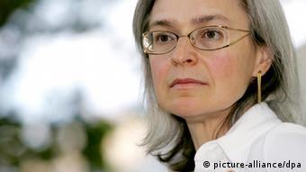 Die 2006 ermordete Journalistin Anna Politkowskaja (Foto: picture-alliance/dpa)