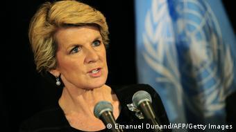 Australien Außenministerin Julie Bishop